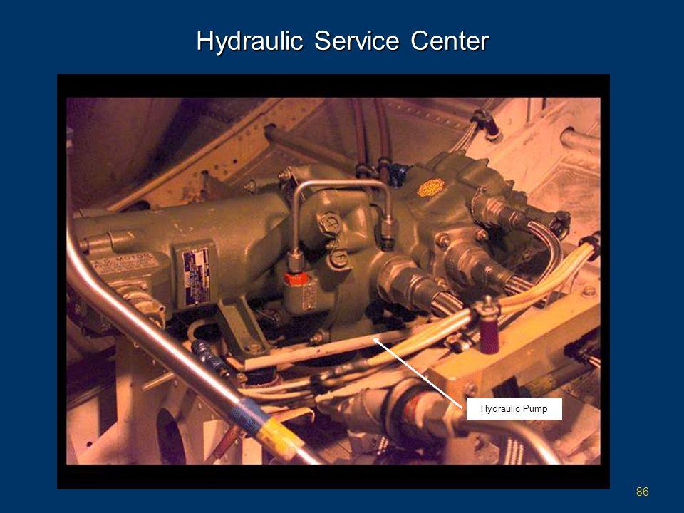 86 Hydraulic Service Center Hydraulic Pump
