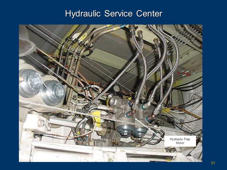91 Hydraulic Service Center Hydraulic Flap Motor
