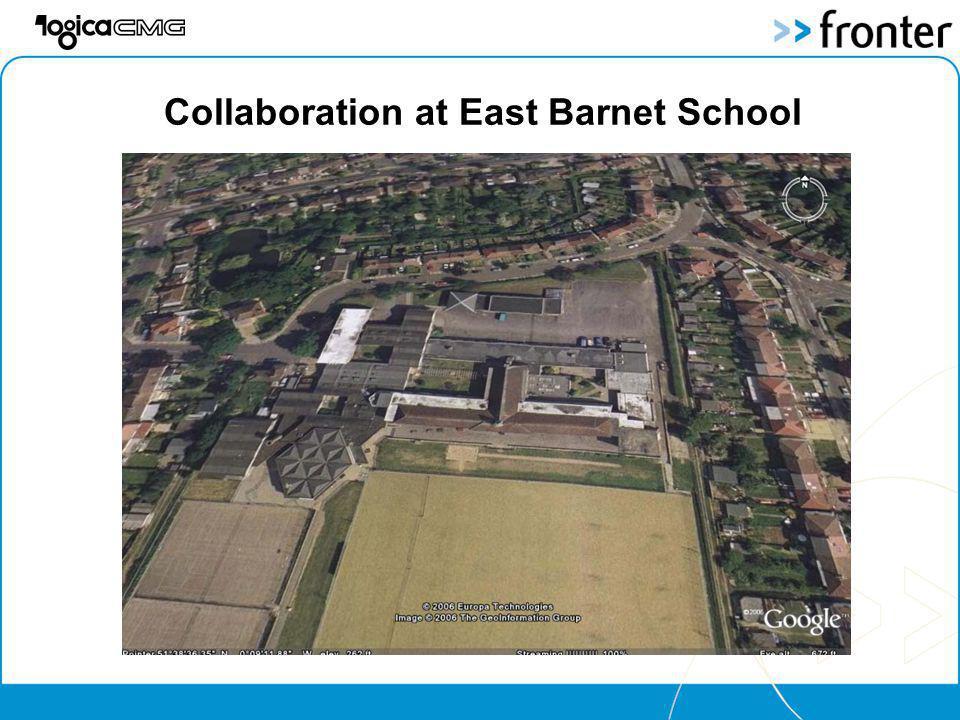 Collaboration at East Barnet School