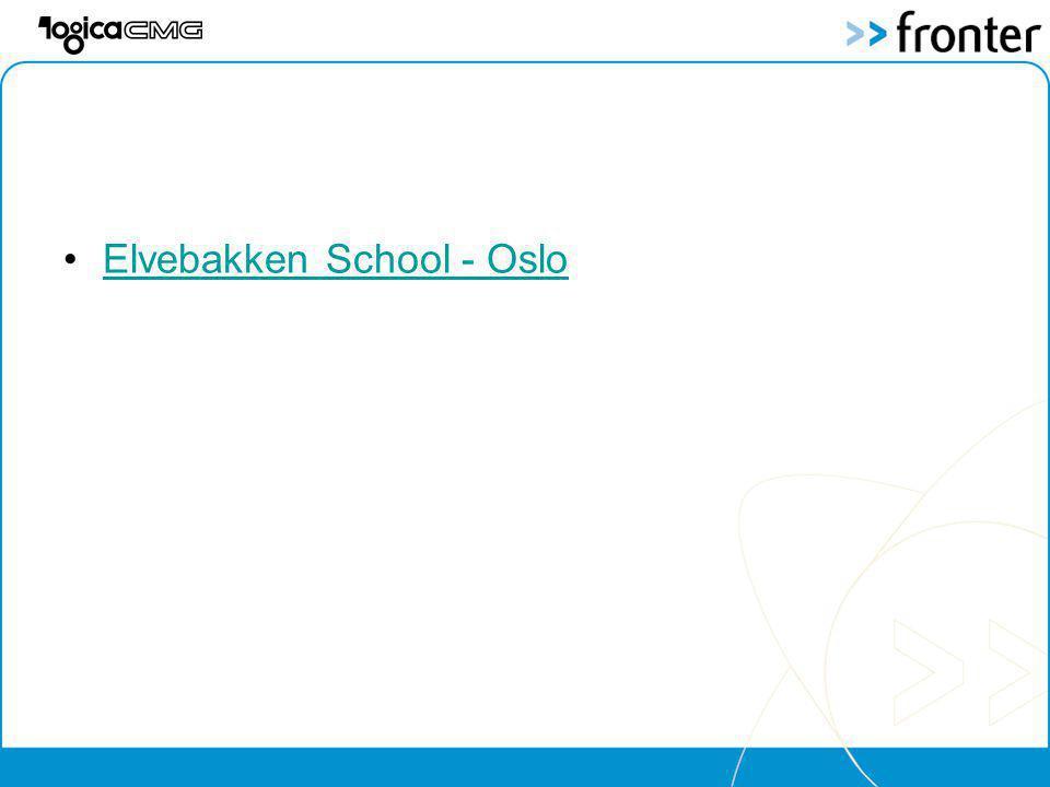 Elvebakken School - Oslo