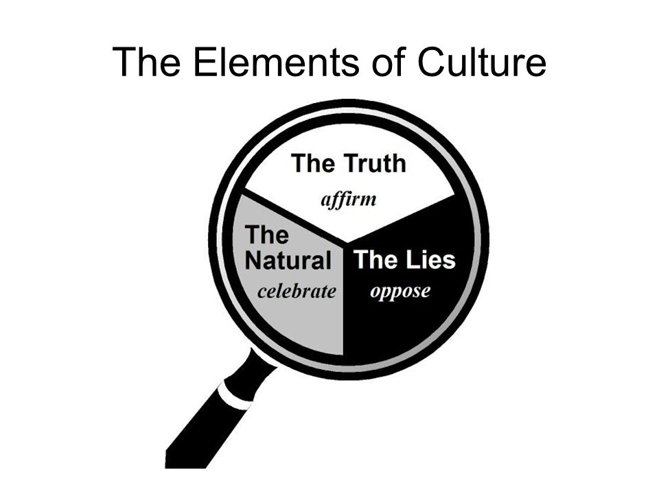 The Elements of Culture