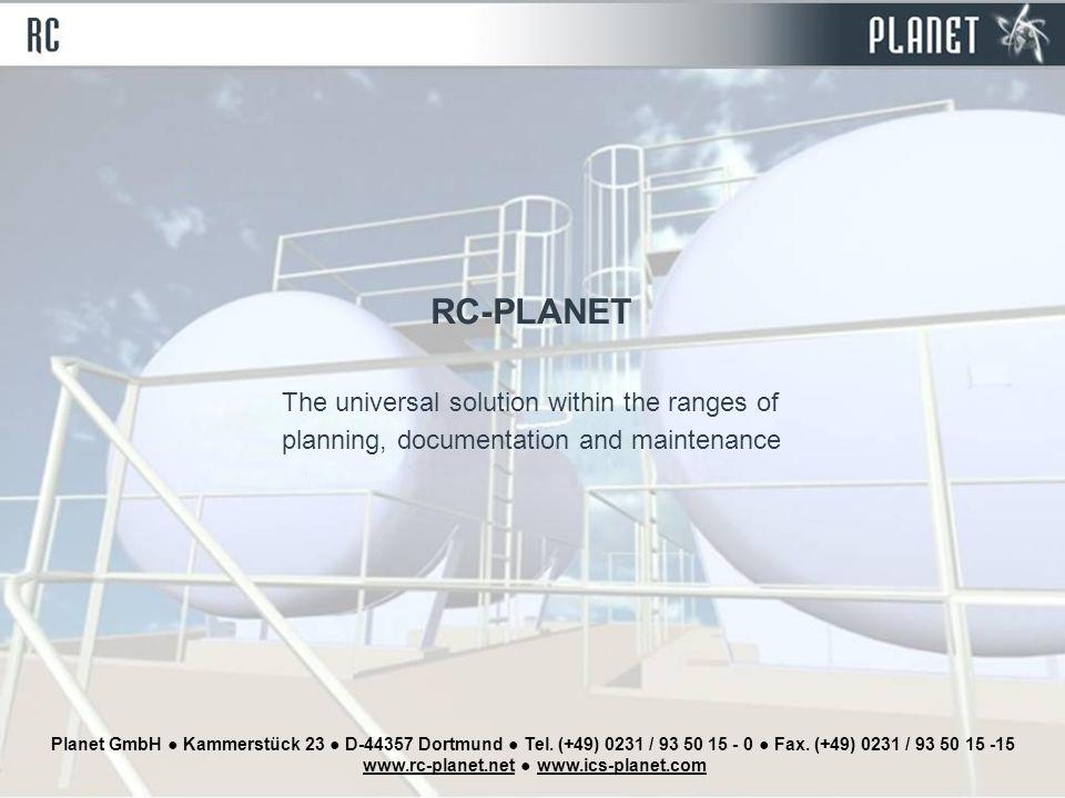 Planet GmbH ● Kammerstück 23 ● D-44357 Dortmund ● Tel.