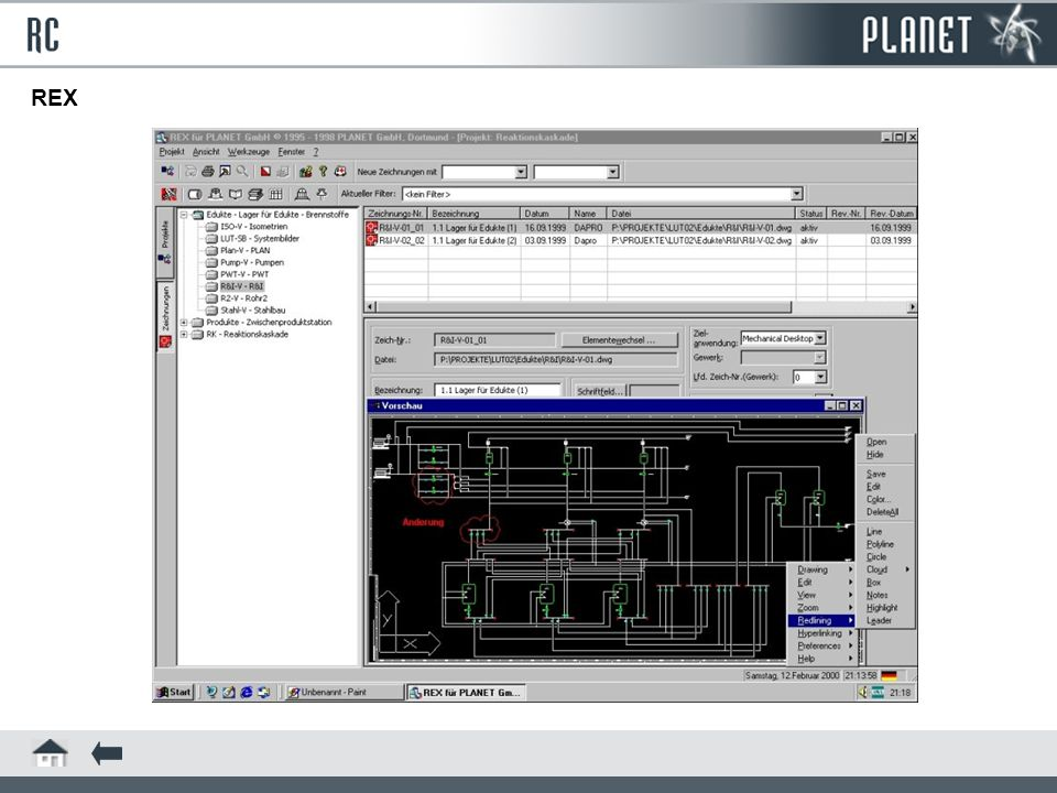 PMX is a program for variational design and is particularly suited for the construction of plant devices and components.