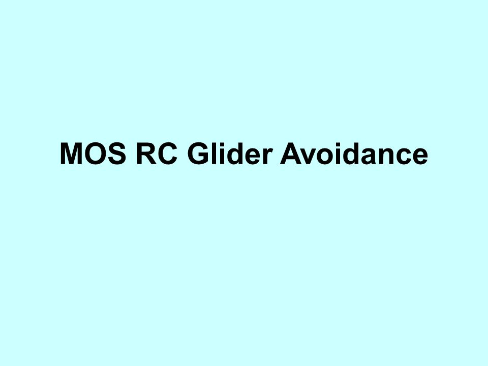 Recent incidents of near misses and /or collision with remote controlled gliders, requires strong action by the members of the HKPA and RC Club to control the airspace shared at MOS.