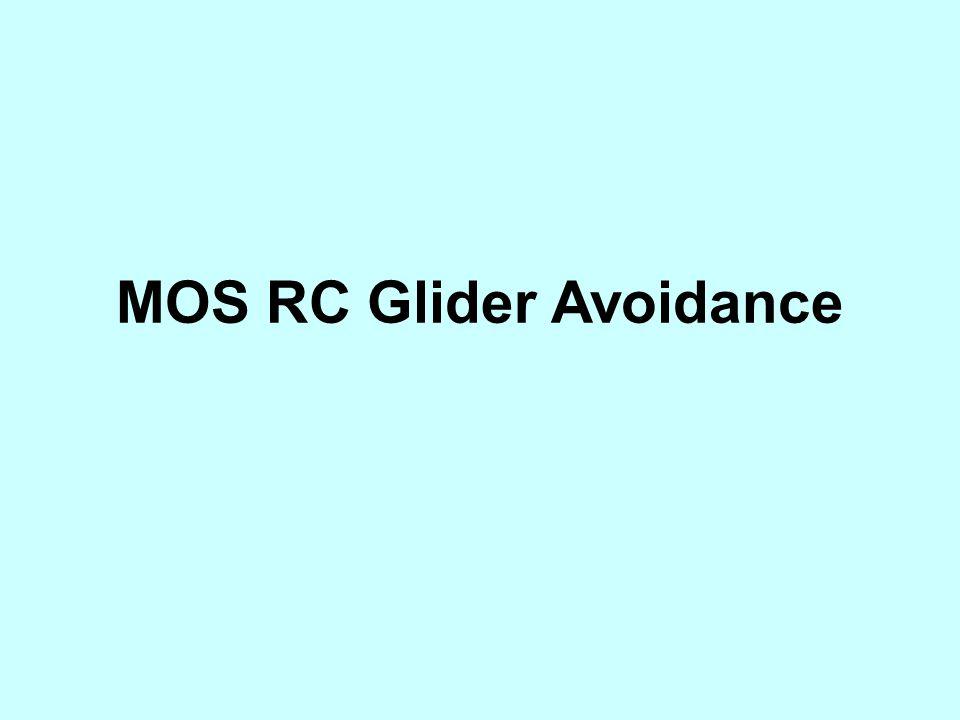 MOS RC Glider Avoidance