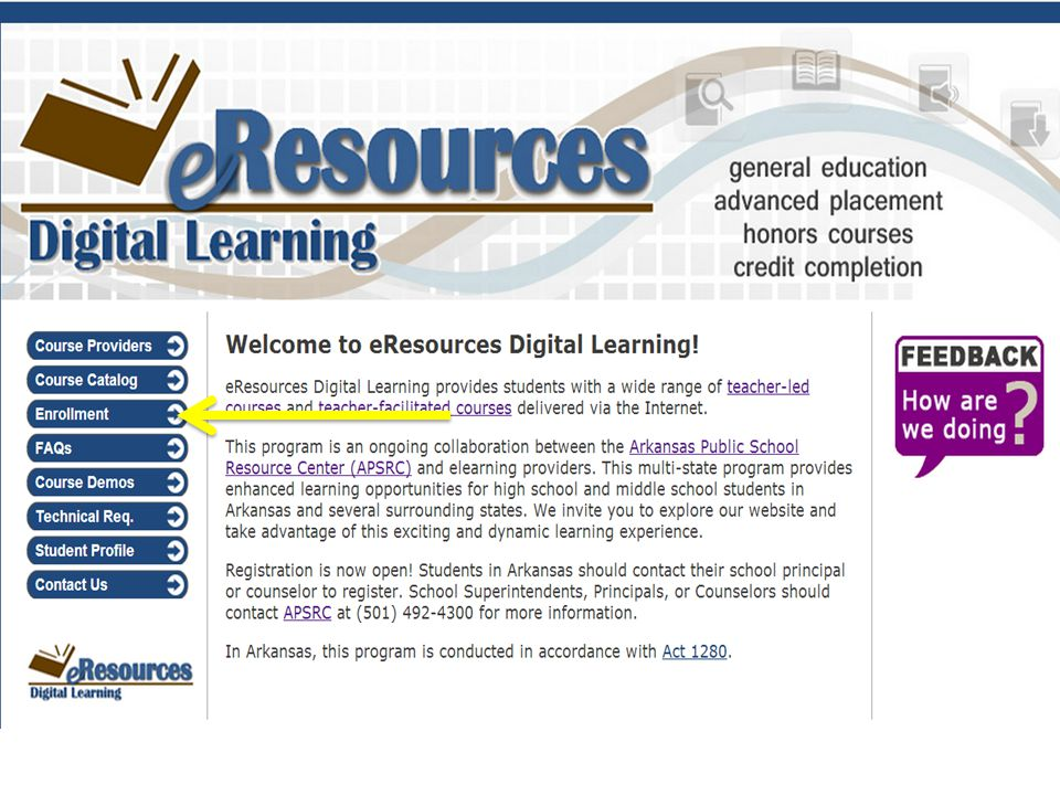 eResources Digital Learning Portal www.elearning-resources.net