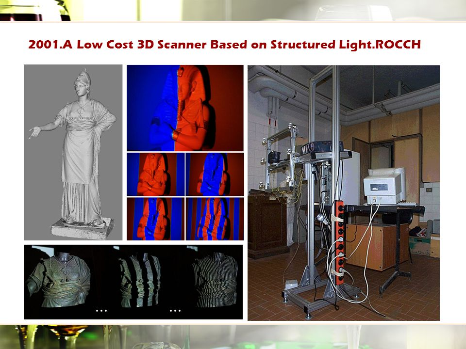 2001.A Low Cost 3D Scanner Based on Structured Light.ROCCH