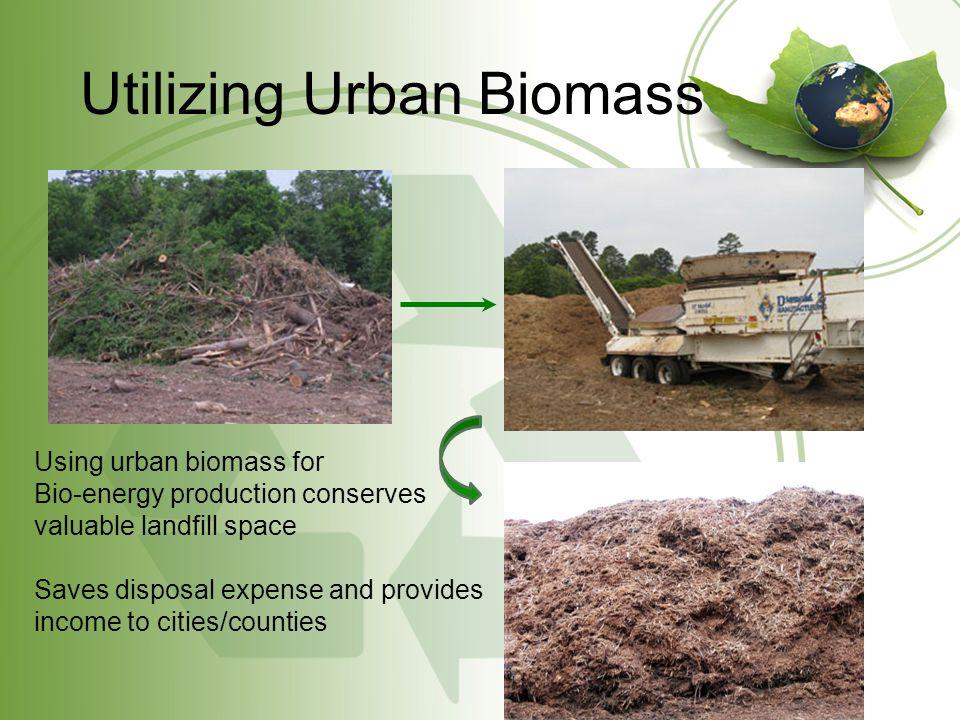 Utilized Technology/Equipment John Deere 1490D Wood Energy HarvesterEnergy Diamond Z- Grinders Transportation of Biomass