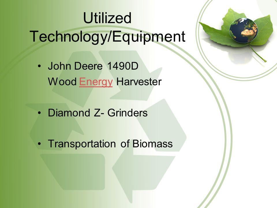 John Deere 1490D Wood Energy Harvester