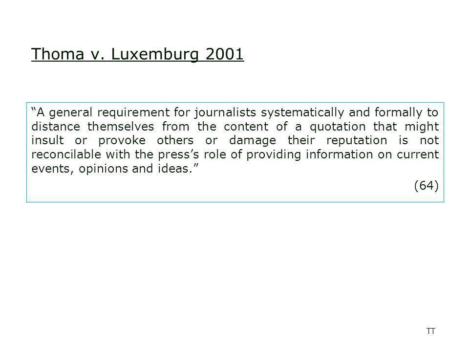 TT Unabhängige Initiative Informationvielfalt v.