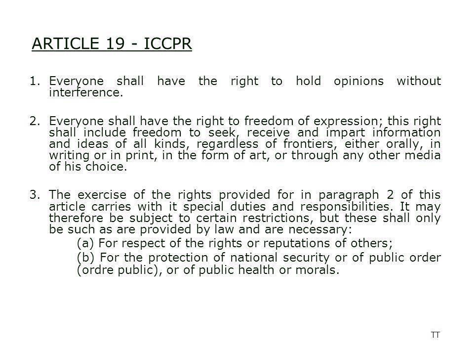 TT Media law in practice Injunction Seizure Protection of sources Defamation/libel Civil cases/damages Privacy Registration Banning Surveillance Government/external pressure