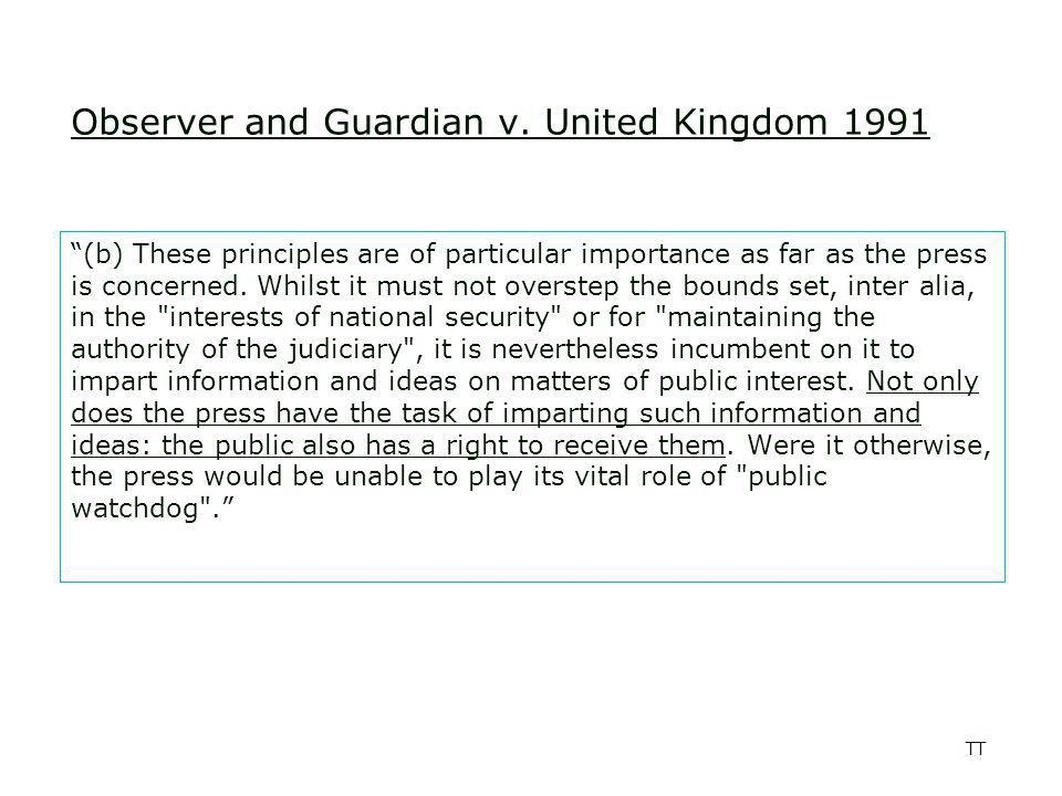 TT Observer and Guardian v.