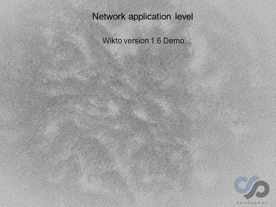 Wikto version 1.6 Demo…
