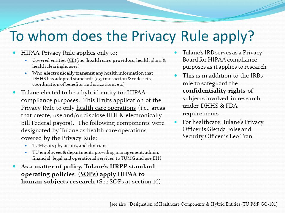 How PHI can be used or disclosed.