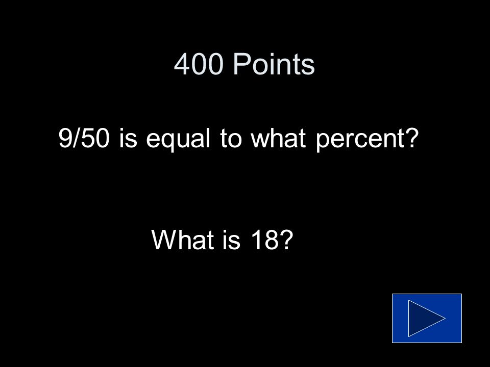 What is 18 300 Points What is the best estimate for 31% of 60