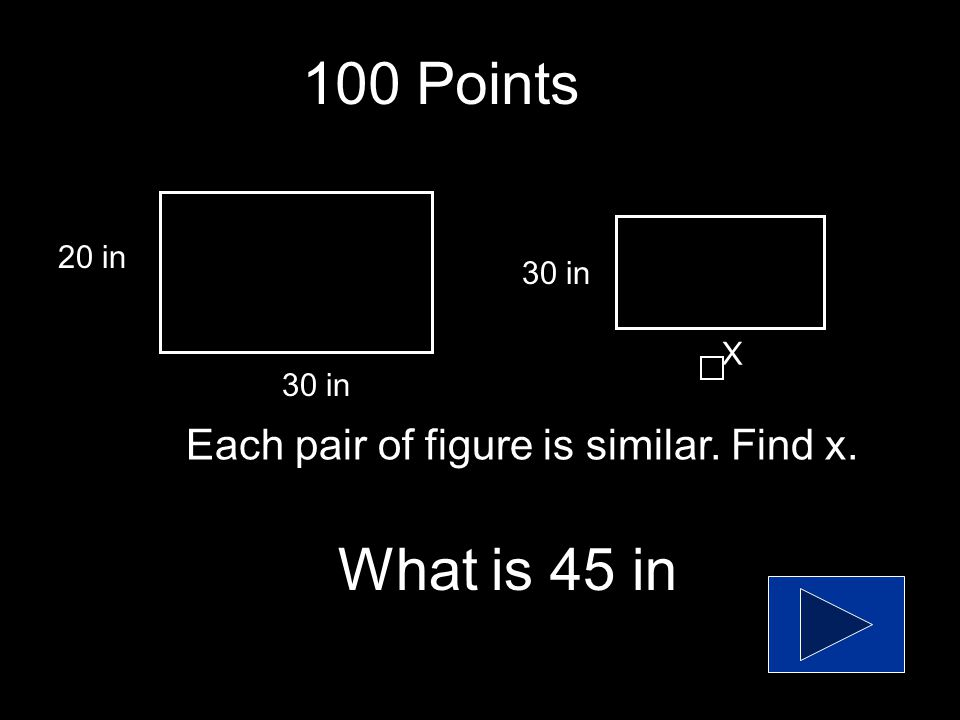 400 Points What is yes Tell whether each pair of ratios forms a proportion.