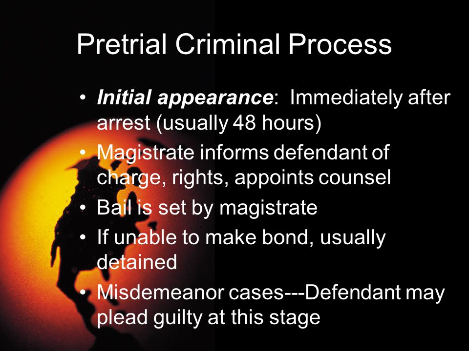 Pleas of Guilty Plea bargaining usually takes place before the beginning of a trial Defendant agrees to plead guilty to a certain offense, usually in exchange for a specific sentencing recommendation from prosecutor Save court resources Prosecutors gain a certain conviction Agreement always subject to court approval