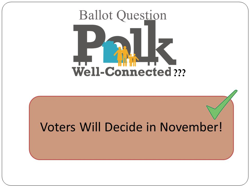 Ballot Question Voters Will Decide in November!