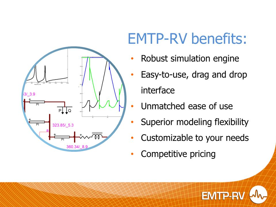 EMTP-RV's strengths: A powerful power system simulation software