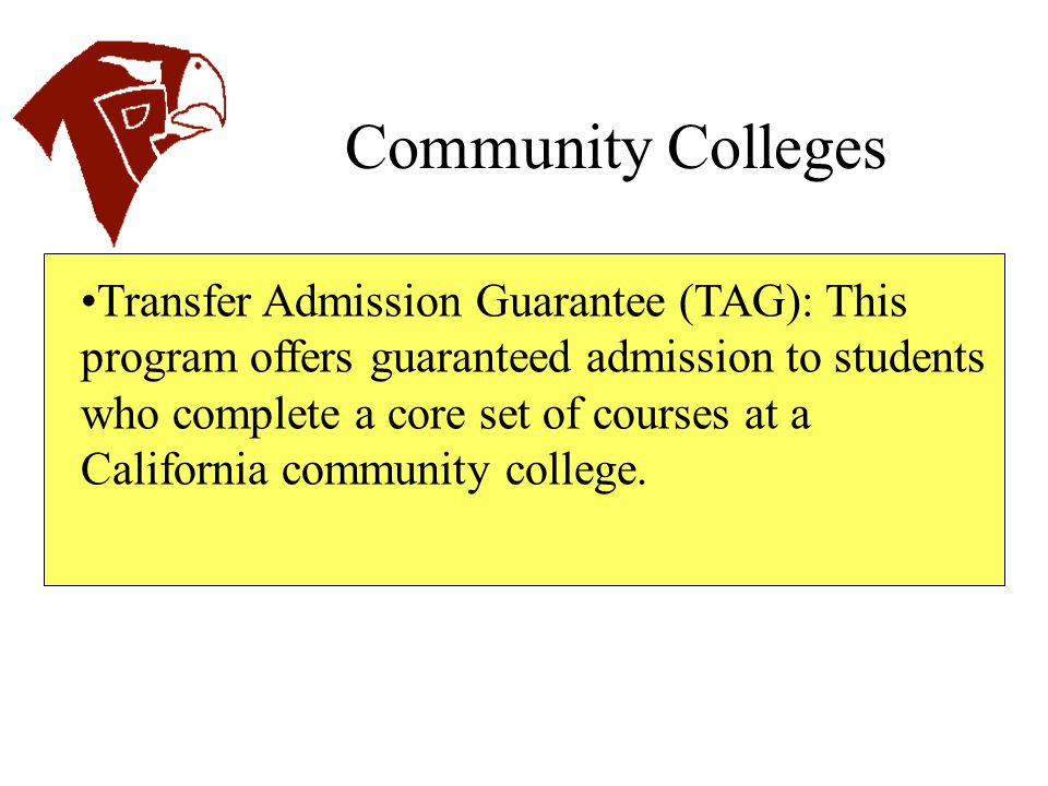 Choose a type of admission and be sure to check what each school offers.