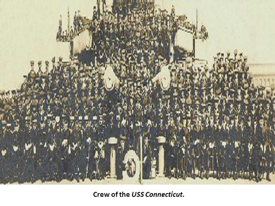 Crew of the USS Connecticut.
