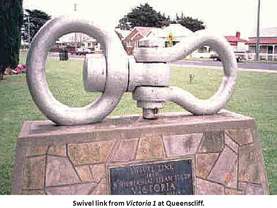 Swivel link from Victoria 1 at Queenscliff.
