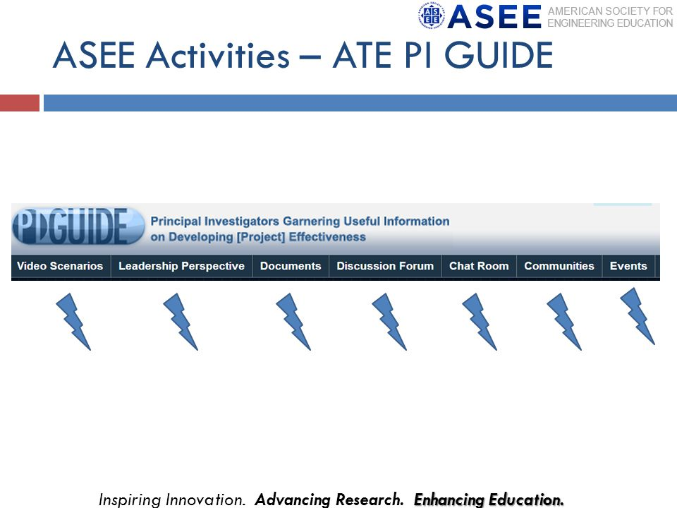 ASEE Activities – ATE PI GUIDE