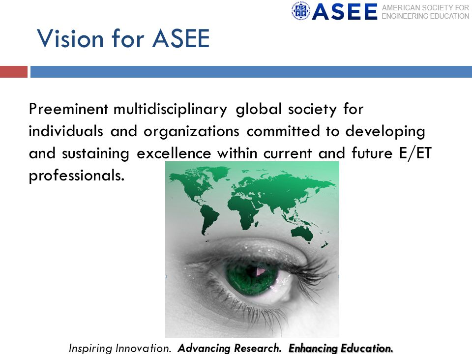 Enhancing Education. Inspiring Innovation. Advancing Research. Enhancing Education.