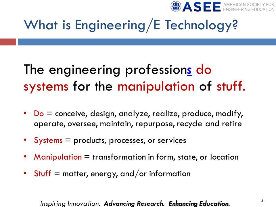 Enhancing Education.Inspiring Innovation. Advancing Research.