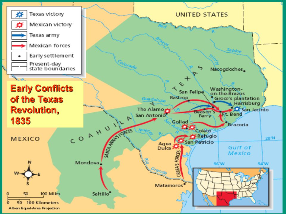 Consultation of 1835 PRO WAR Wanted to declare Texas Independence from Mexico PRO PEACE Wanted to remain loyal to Mexico and wanted the Const.
