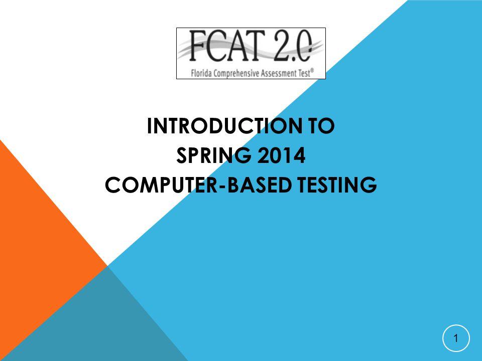 SCHOOL COORDINATOR BEFORE TESTING  Arrange practice test sessions.