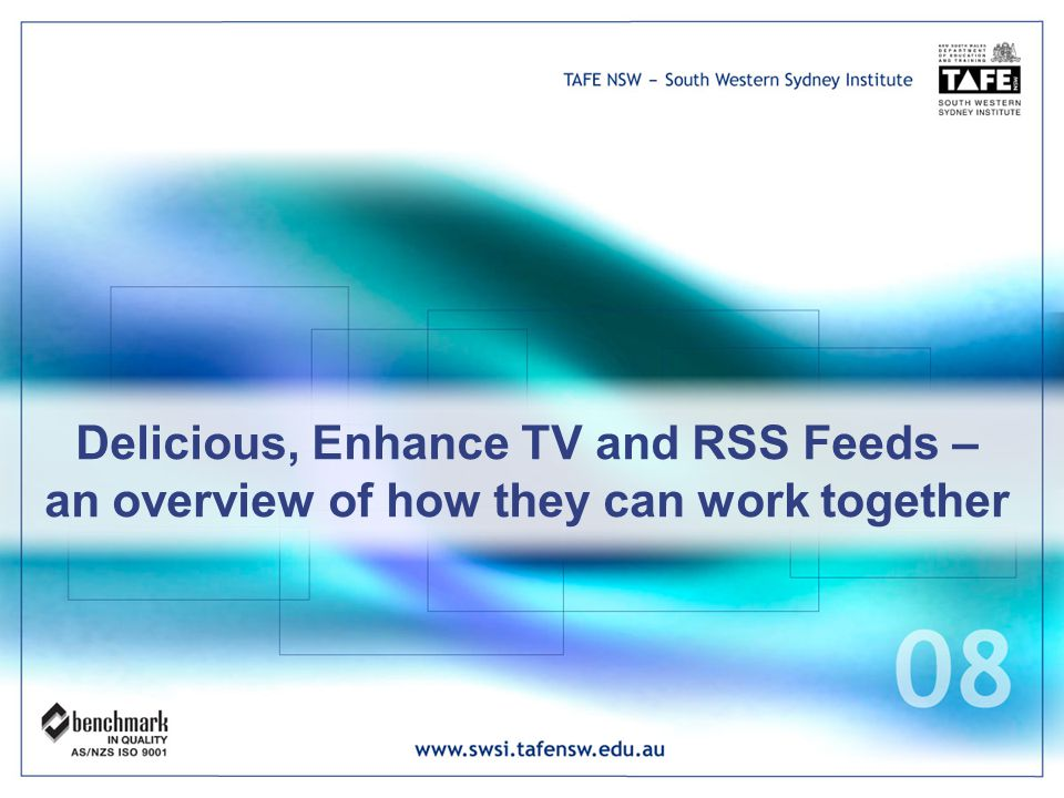 Delicious, Enhance TV and RSS Feeds – an overview of how they can work together