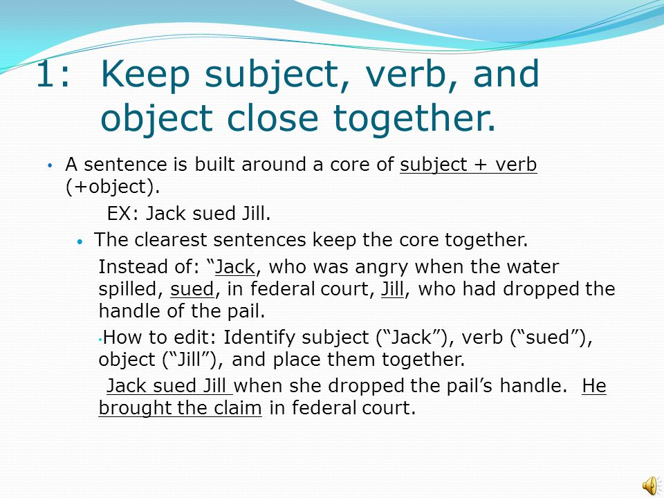 Introduction The goal of concise writing is to use the most effective words.