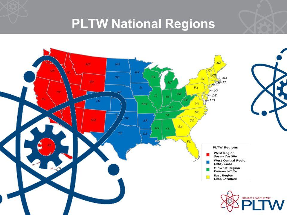 PLTW National Regions