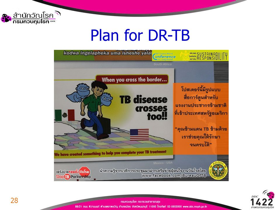 28 Plan for DR-TB