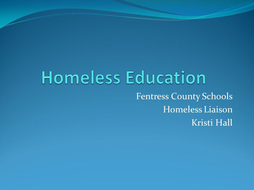 Fentress County Schools Homeless Liaison Kristi Hall