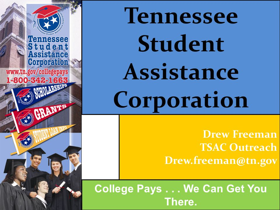 Tennessee Student Assistance Corporation Admissions College Pays...