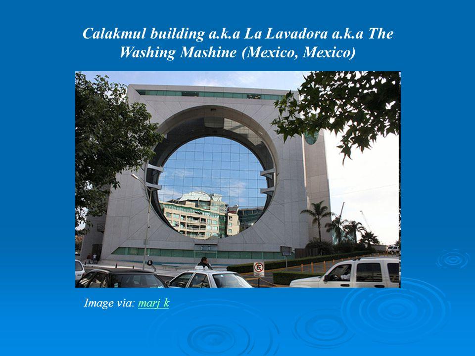 Calakmul building a.k.a La Lavadora a.k.a The Washing Mashine (Mexico, Mexico) Image via: marj kmarj k