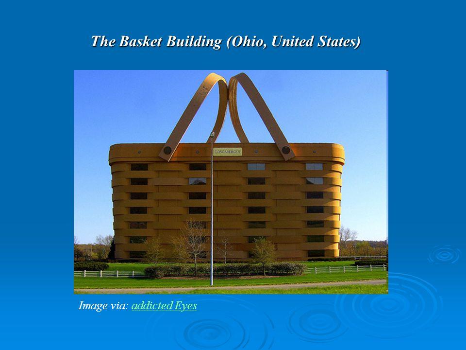 The Basket Building (Ohio, United States) Image via: addicted Eyesaddicted Eyes