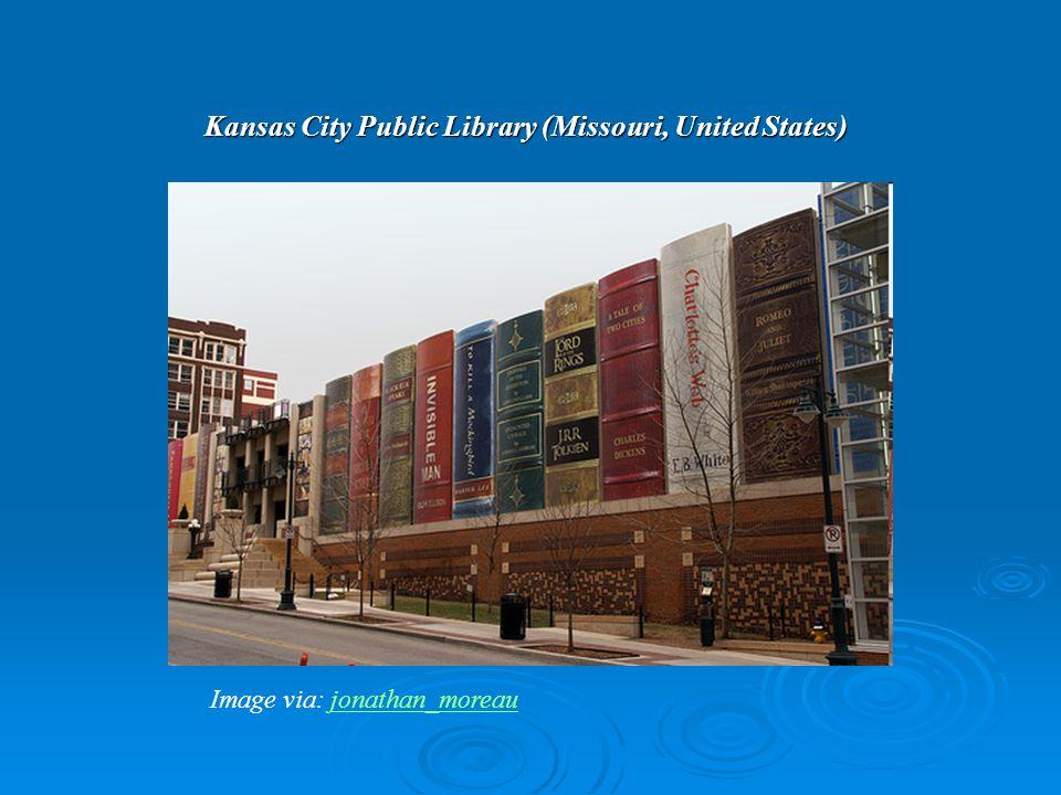 Kansas City Public Library (Missouri, United States) Image via: jonathan_moreaujonathan_moreau