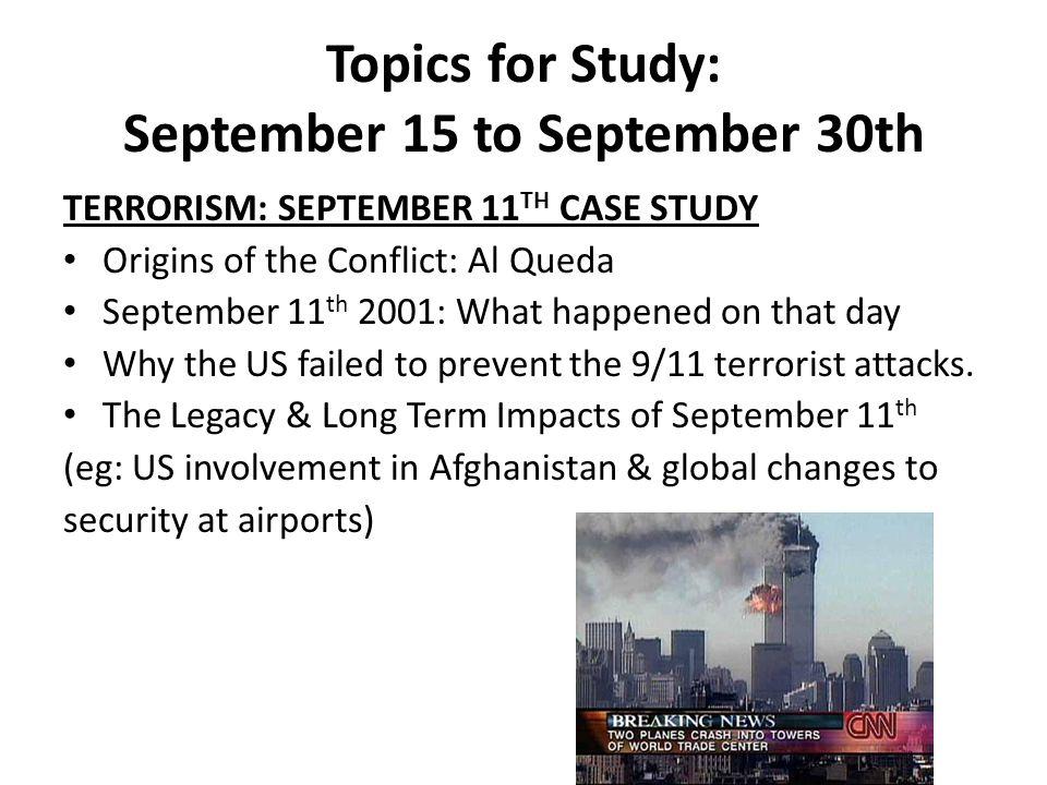 september 11 essay questions