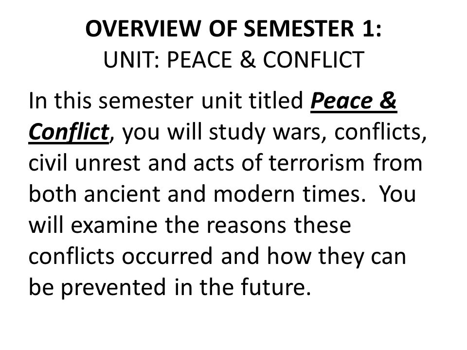 ESSENTIAL QUESTIONS 1.Why is conflict so prevalent through history.