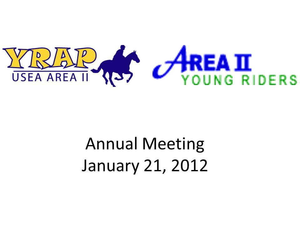 Annual Meeting January 21, 2012