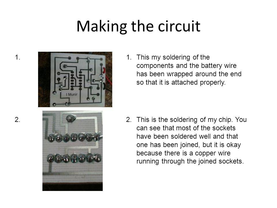 Making the circuit 1.2.