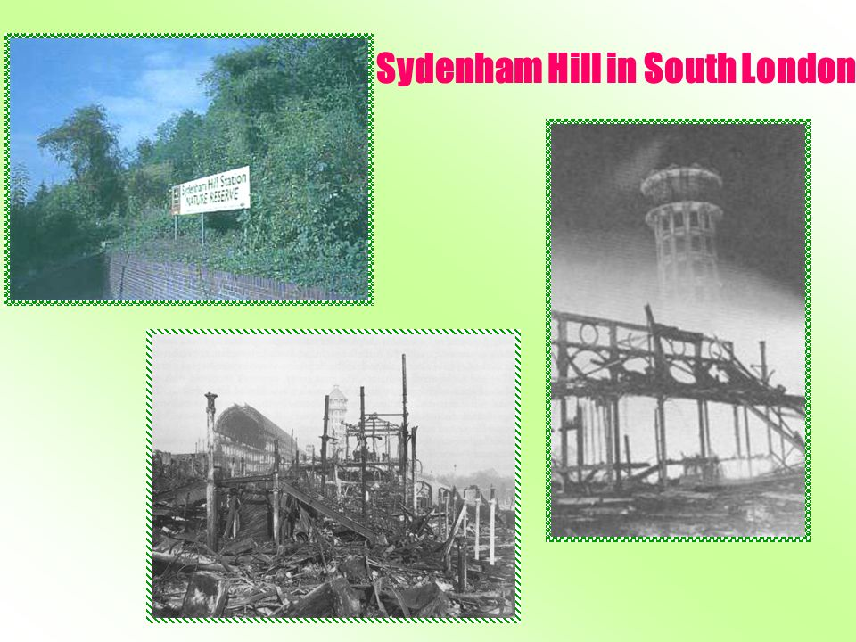 Sydenham Hill in South London