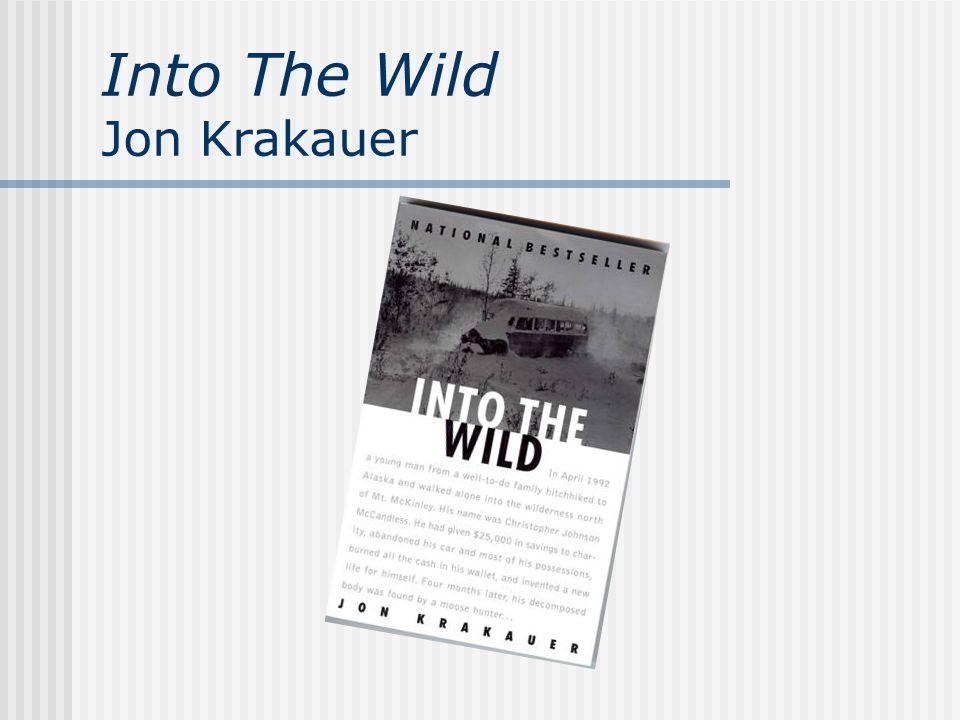 Into The Wild Jon Krakauer