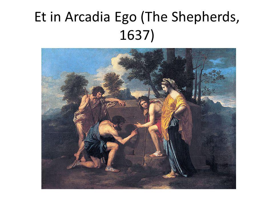 Et in Arcadia Ego (The Shepherds, 1637)