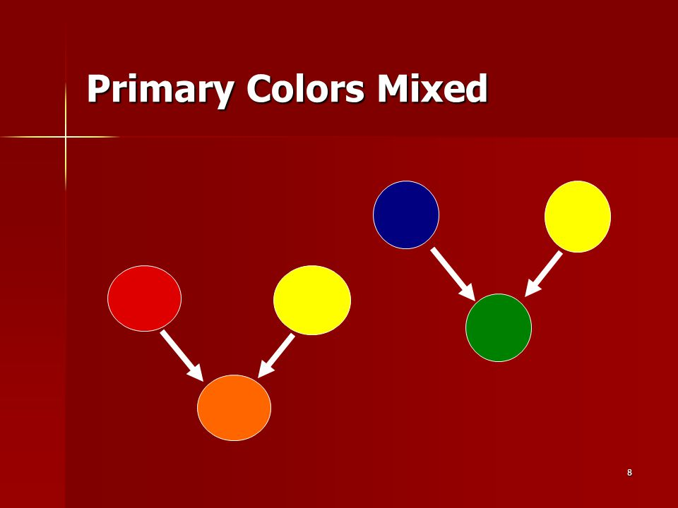 8 Primary Colors Mixed
