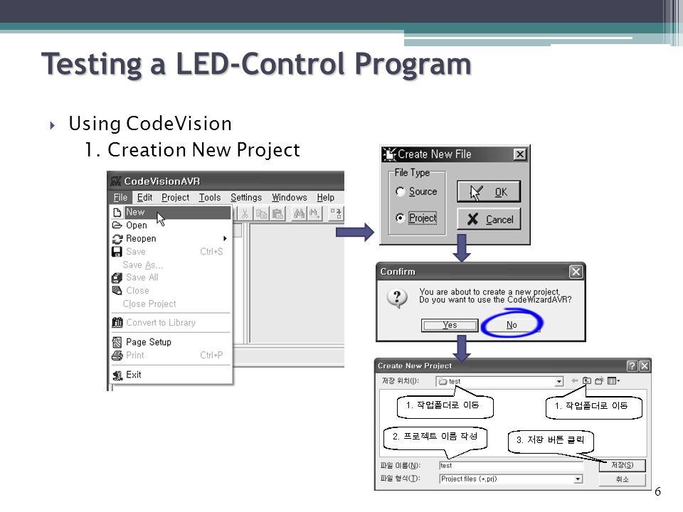  DIP 스위치의 D0 의 상태가 On 일 때 LED 가 '0xAA' 와 '0x55' 를 반복 하게 하라.