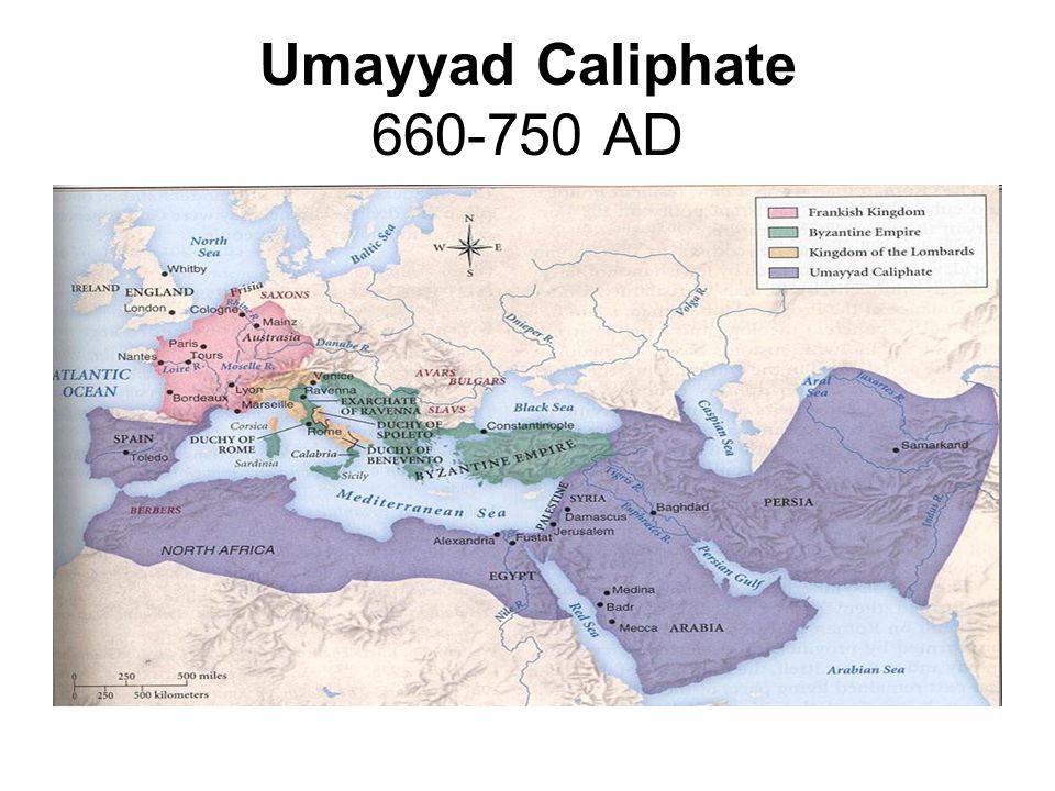 Umayyad Caliphate 660-750 AD